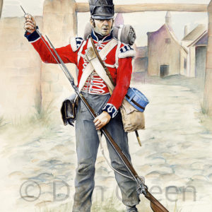 dgmilitaryart-novusart-1st-foot-guards-waterloo-1815