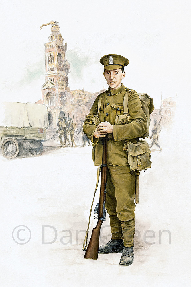 dgmilitaryart-novusart-1st-royal-irish-rifles-1916