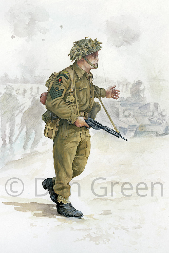 dgmilitaryart-novusart-2nd-royal-ulster-rifles-d-day-1944