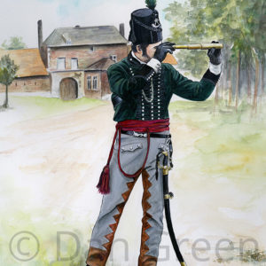 dgmilitaryart-novusart-officer-95th-rifles-waterloo-1815