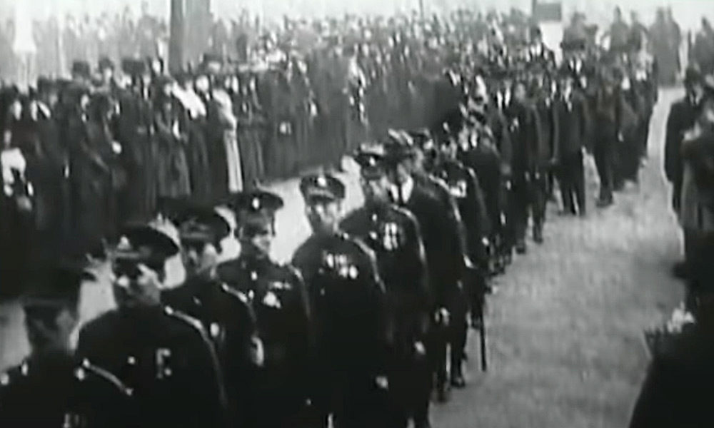 the vc honour guard